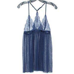 Victorias Secret Lingerie Babydoll Sheer Large H1